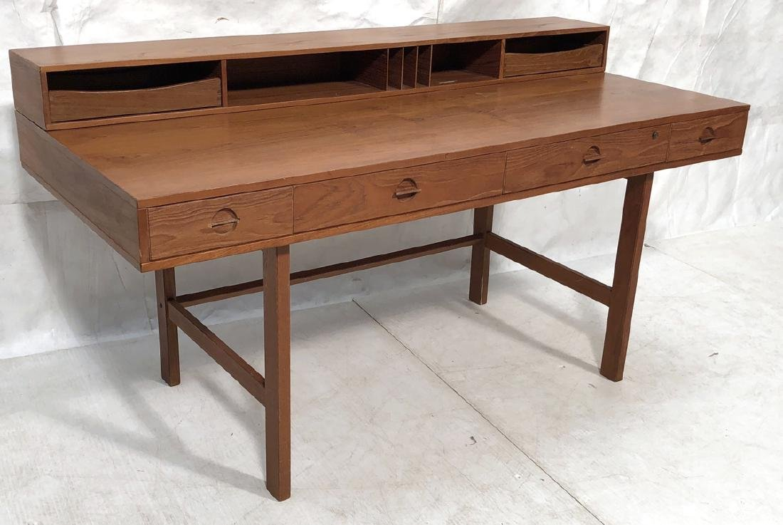 Danish Modern Teak PETER LOVIG NIELSON Desk. Cubi