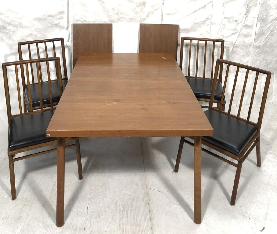 5pc ROBSJOHN GIBBINGS Dining Table & Chairs WIDDI