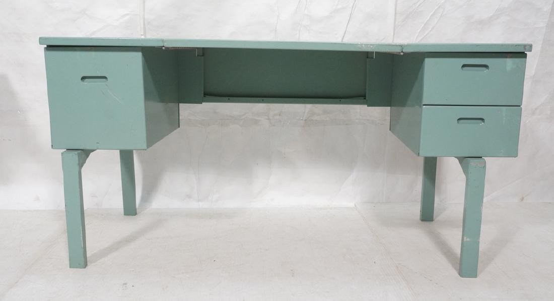 Industrial Metal Collapsible Desk. Military porta