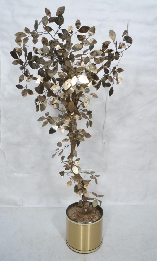 JERE Brutalist Burnished Brass Tree Branch Figura