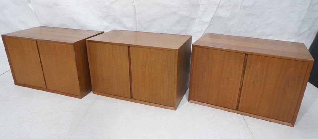 3 POUL CADOVIUS CADO Cabinets. Wall mounted 2 doo
