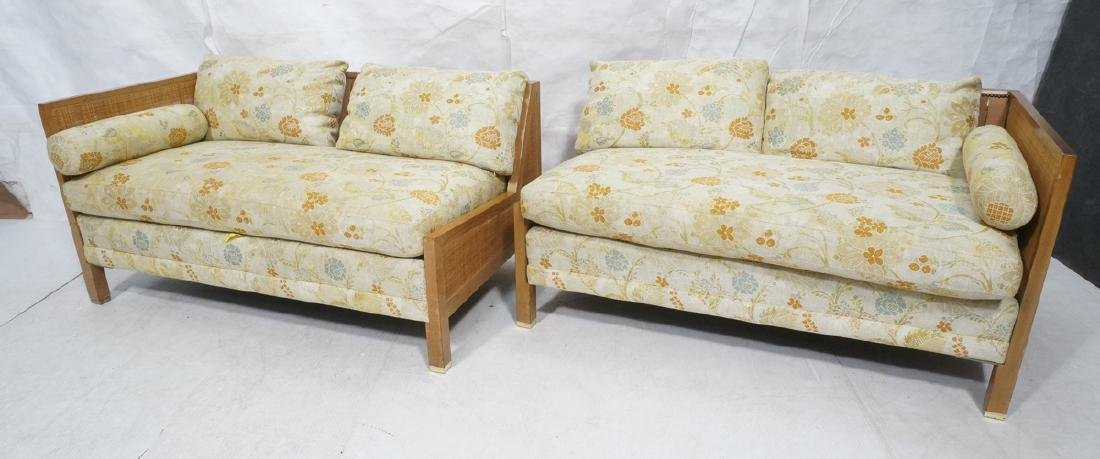 BAKER 2 Section Sofa Couch with Double can