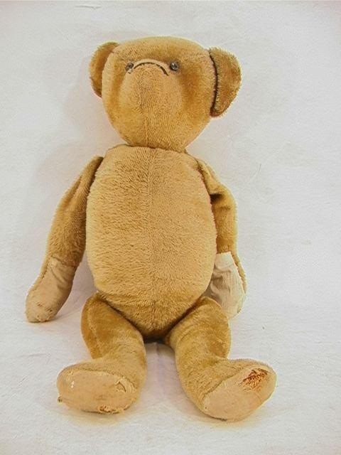 1003: Antique Mohair Humpback Teddy Bear Hump Back.  La