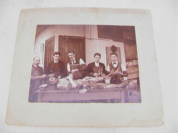 1018: Vintage Antique Photograph Medical Cadaver Autops