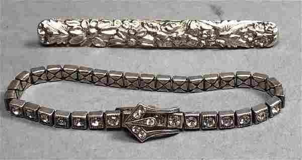 2pc Sterling Silver Jewelry. JENKINS & JENKINS St