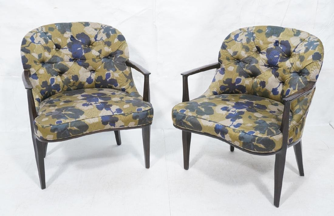 Pr EDWARD WORMLEY for DUNBAR Lounge Chairs. Moder