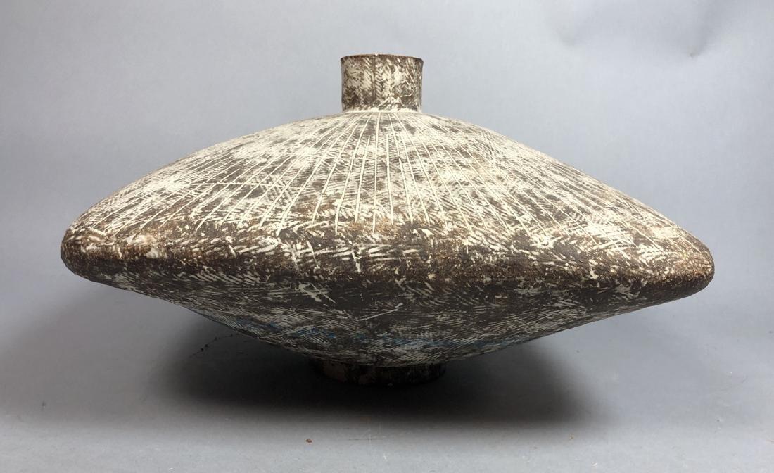 CLAUDE CONOVER American Studio Pottery Vase. Wide