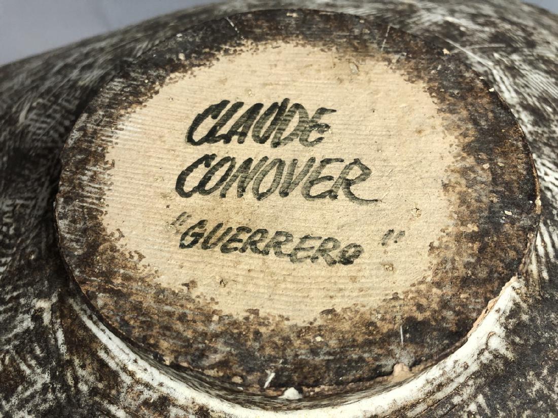 CLAUDE CONOVER American Studio Pottery Vase. Wide - 2