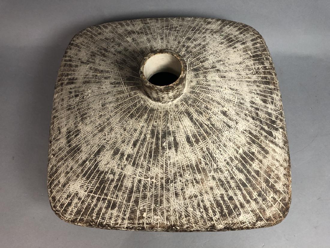 CLAUDE CONOVER American Studio Pottery Vase. Wide - 4