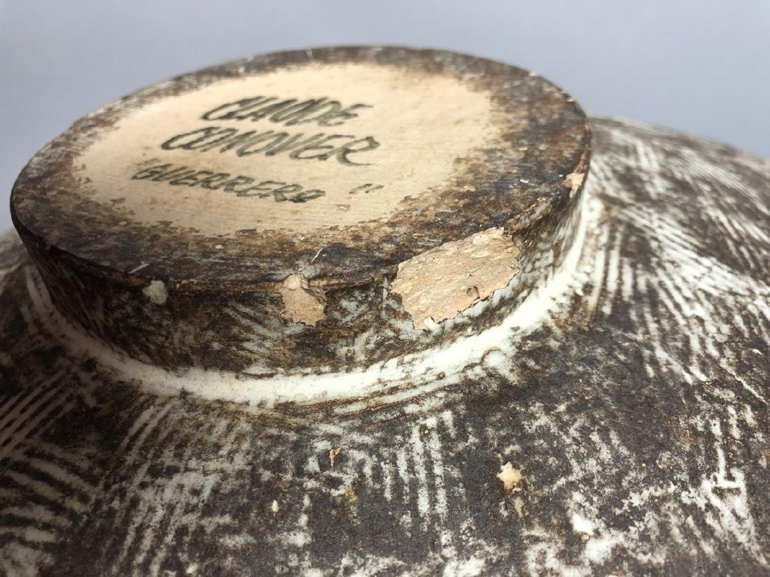 CLAUDE CONOVER American Studio Pottery Vase. Wide - 5