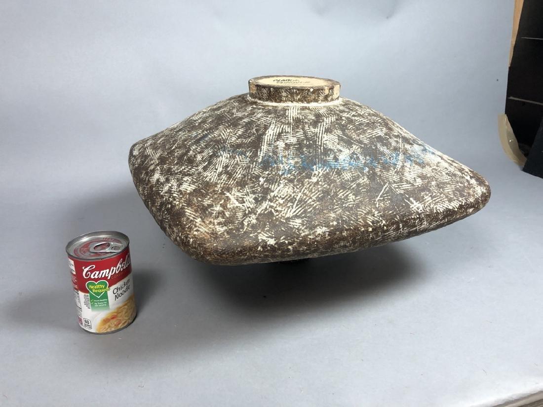 CLAUDE CONOVER American Studio Pottery Vase. Wide - 8