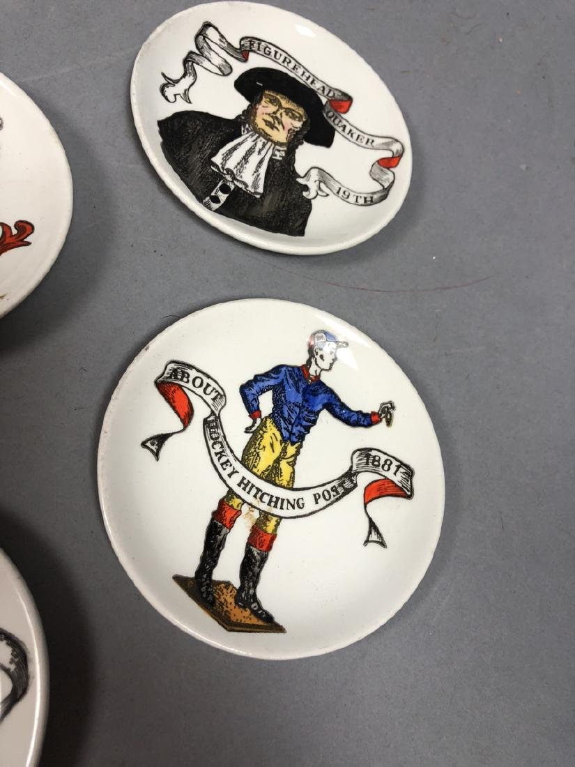 7 FORNASETTI Style Graphic Image Coasters. Includ - 6