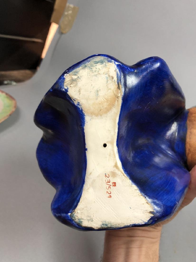 Pr Continental Ceramic Figural Sculptures Knights - 6