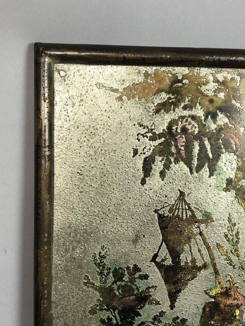 PHILIP KELVIN LaVERNE Embossed Bronze Plaque. Fau - 3