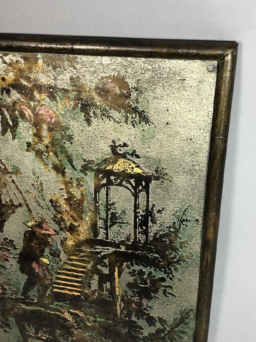 PHILIP KELVIN LaVERNE Embossed Bronze Plaque. Fau - 4