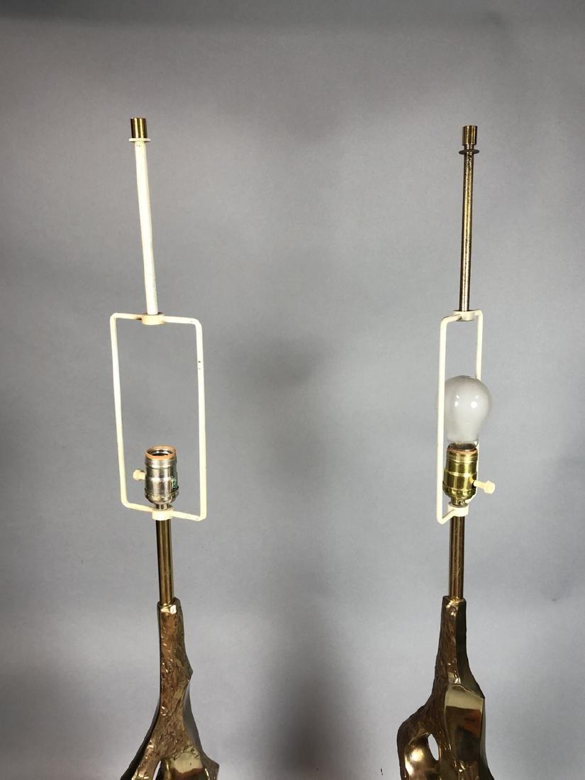 Pr TEMPESTINI for LAUREL Brutalist Table Lamps. G - 7