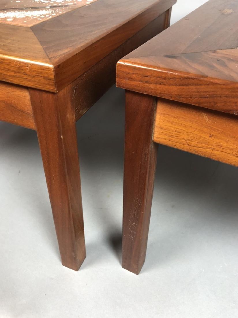 BROWN SALTMAN American Walnut Square Side Table. - 6