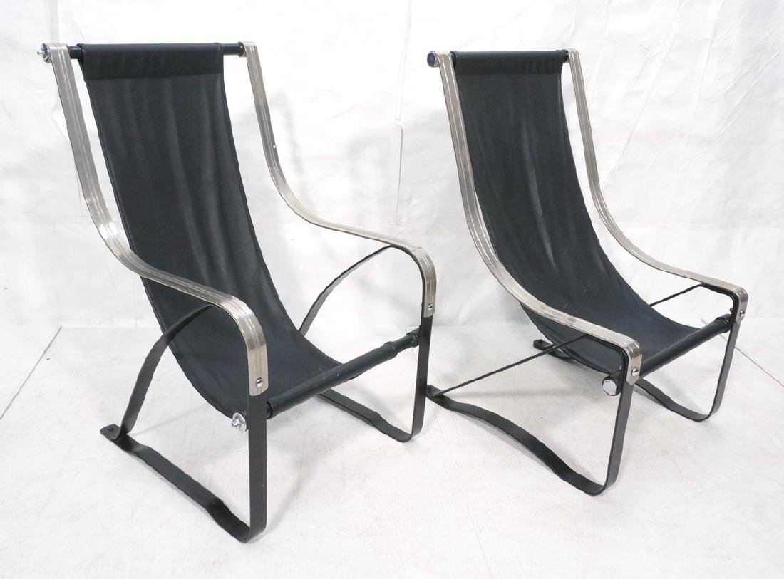 SALVATORE BEVELACQUA Pr Art Deco Lounge Chair. Mc