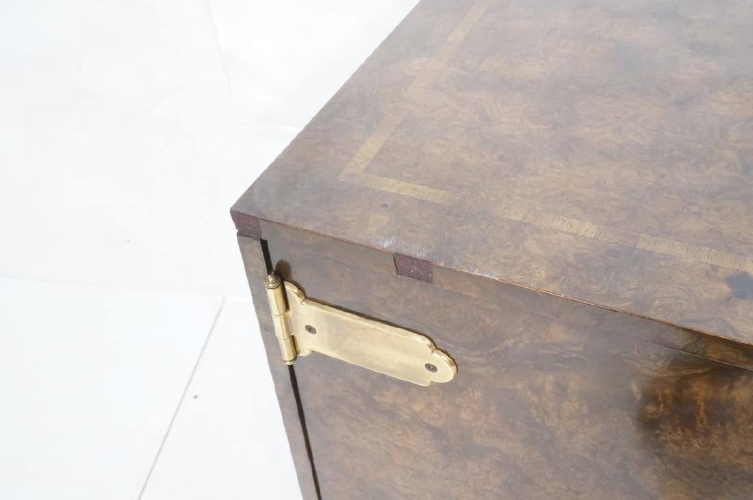 MASTERCRAFT Modernist Burl Wood Credenza Sideboar - 6