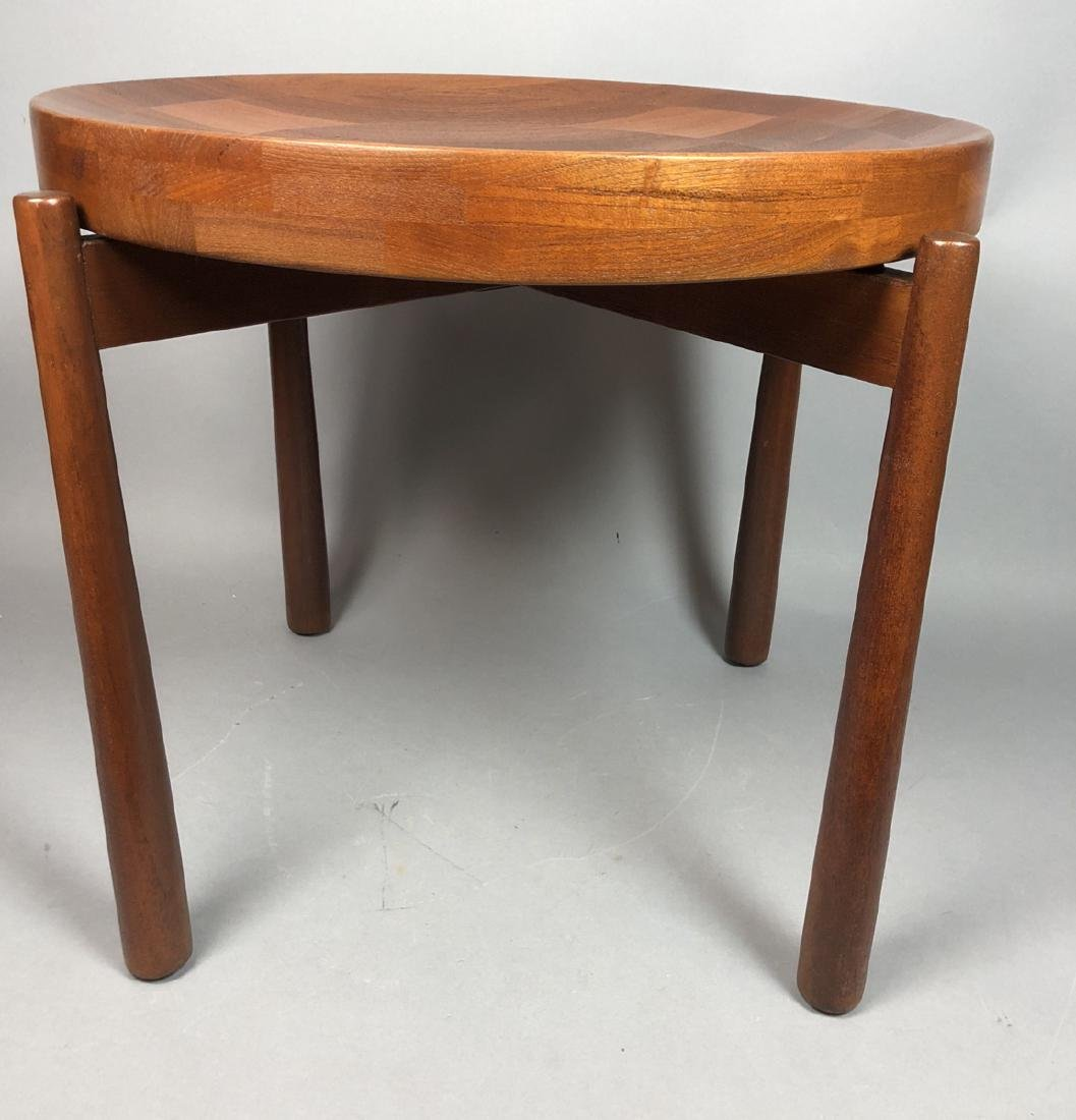 DANSK JENS QUISTGAARD Teak Tray Top Side Table. M