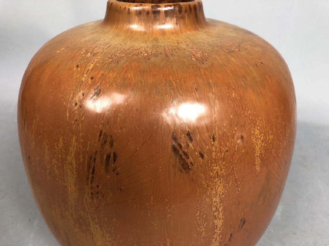 Large SAXBO Scandinavian Design Pottery Vase. Dan - 4