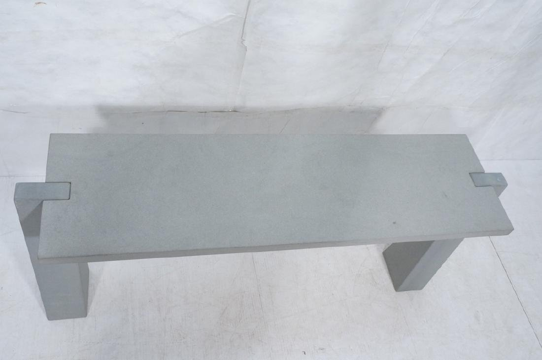ANGELO MANGIAROTTI Italian Console Table - 3