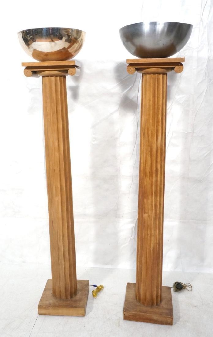 Pr ROBSJOHN GIBBINGS 'Sans Epoque' Column Floor L