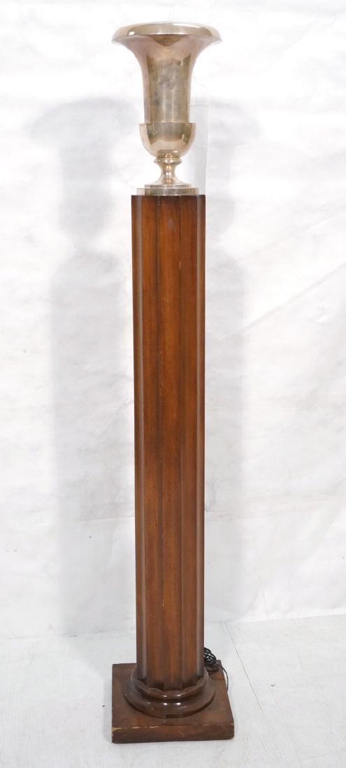 ROBSJOHN GIBBINGS Attributed Fluted Column Floor