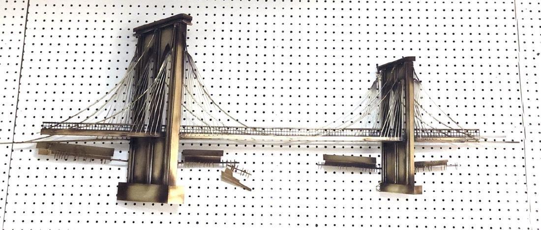 C. JERE Brooklyn Bridge Wall Sculpture. ARTISAN H