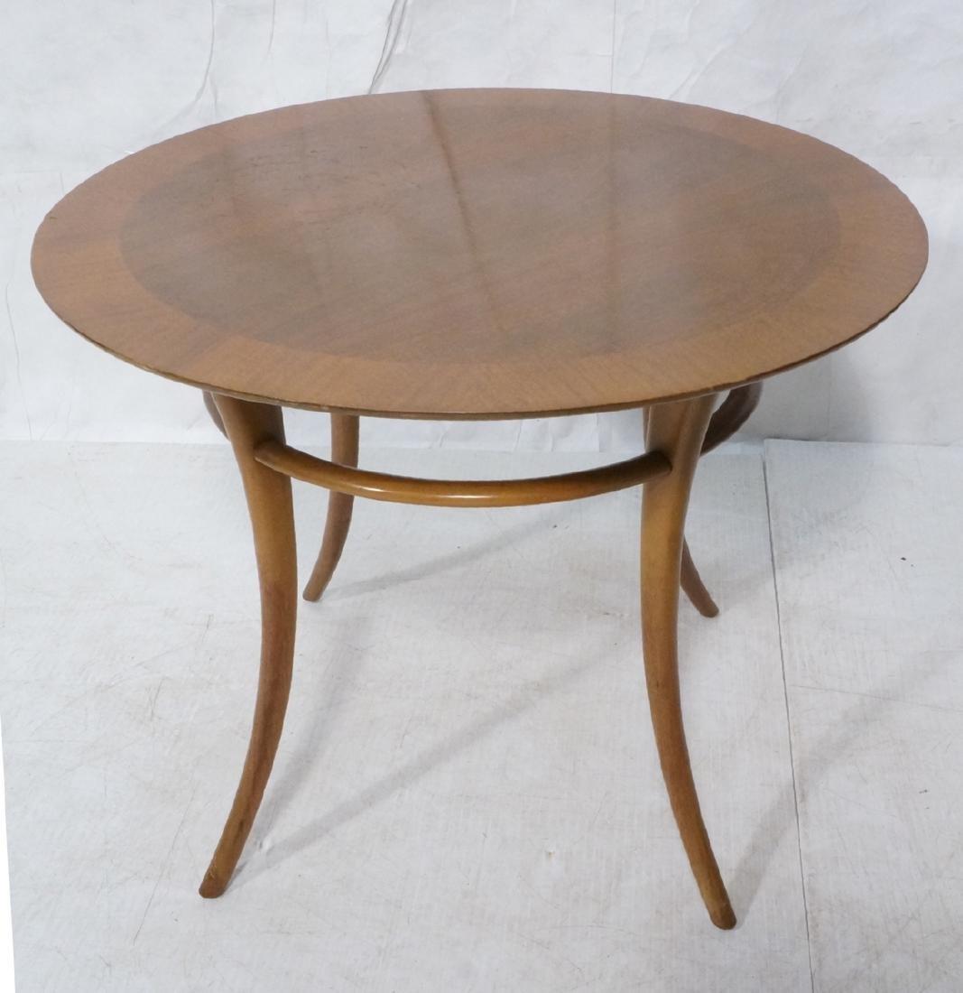 WIDDICOMB by ROBSJOHN GIBBINGS Walnut Side Table.