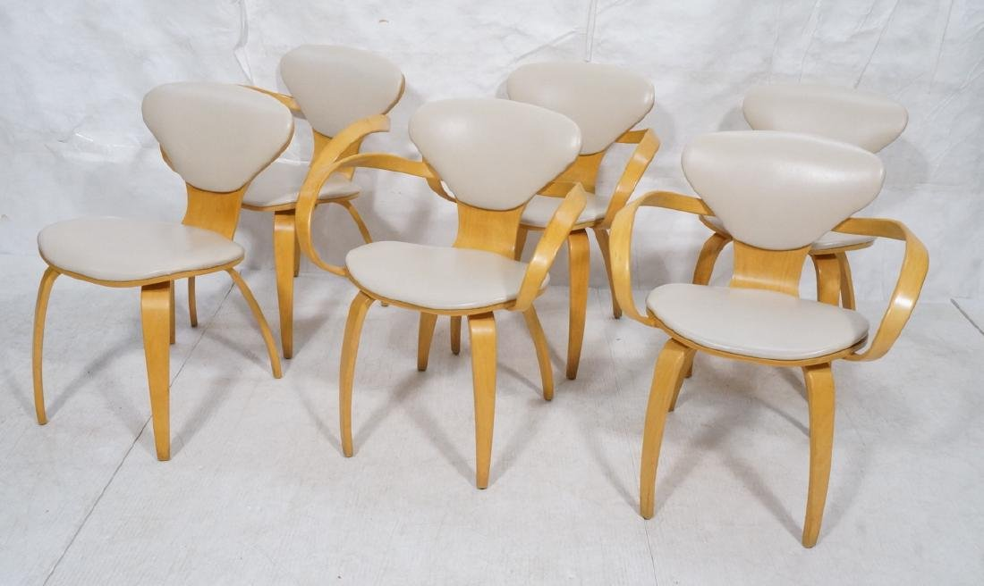 6 CHERNER Style Dining Chairs. Corseted waist fra
