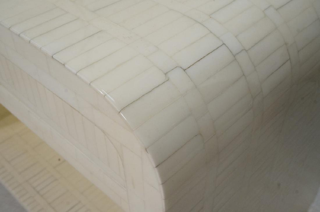 Pr ENRIQUE GARCEL Lacquered Tessellated Bone Nigh - 5