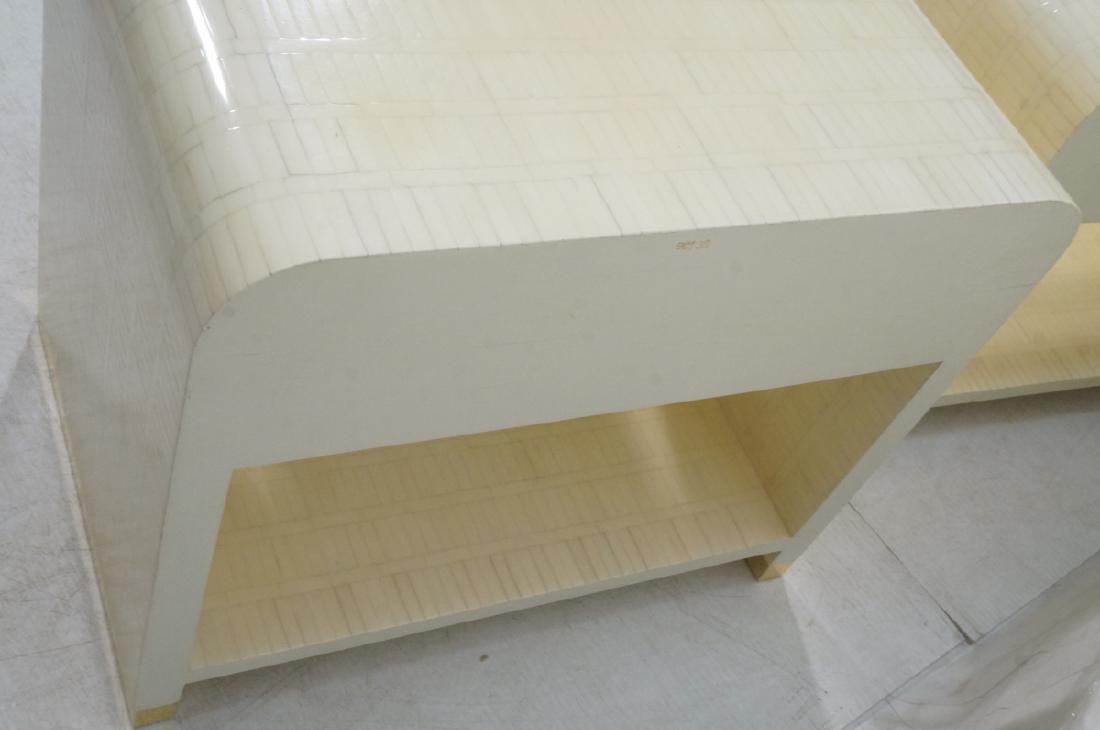 Pr ENRIQUE GARCEL Lacquered Tessellated Bone Nigh - 8