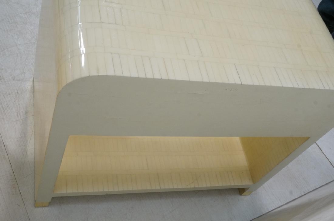 Pr ENRIQUE GARCEL Lacquered Tessellated Bone Nigh - 9