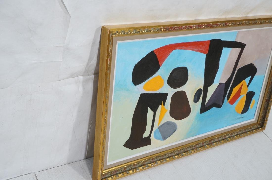 REMO FARRUGGIO Modernist Abstract Painting. Color - 3