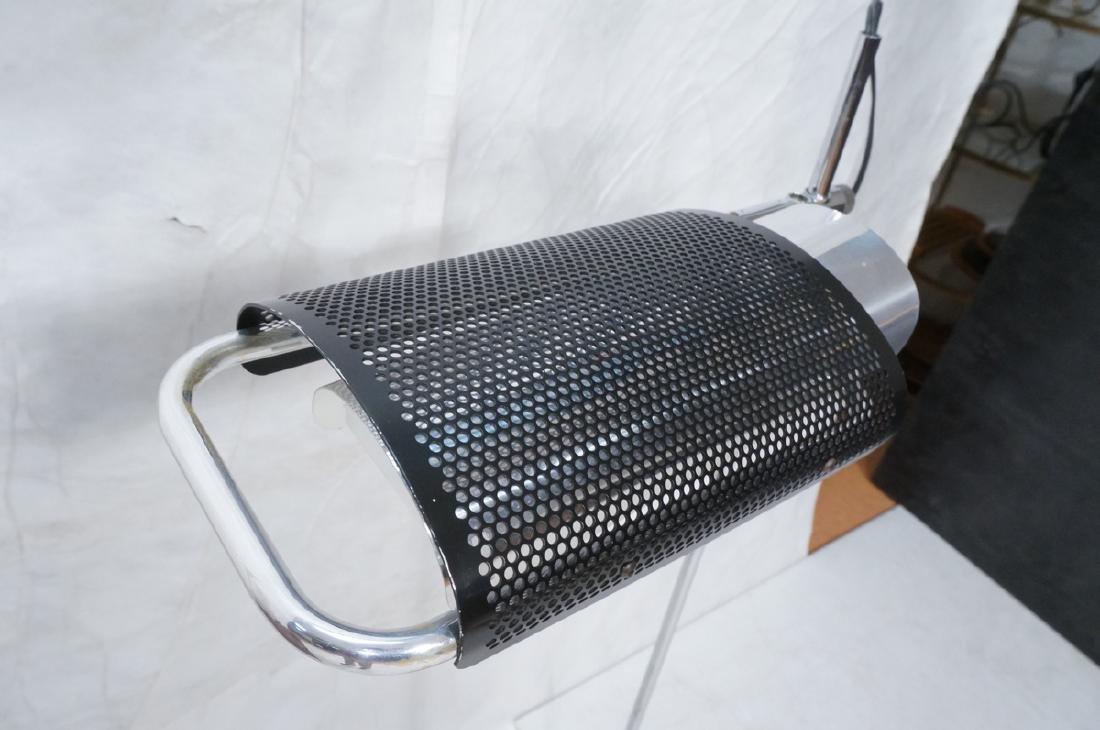 KOCH-LOWY Black & Chrome Modern Floor Lamp OMI Mo - 2