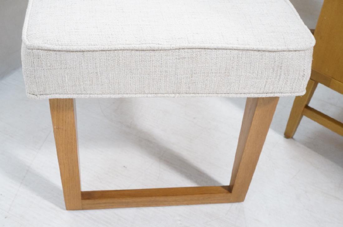 Pr Paul Laszlo Style Style Oak Leg Benches Foot S - 2