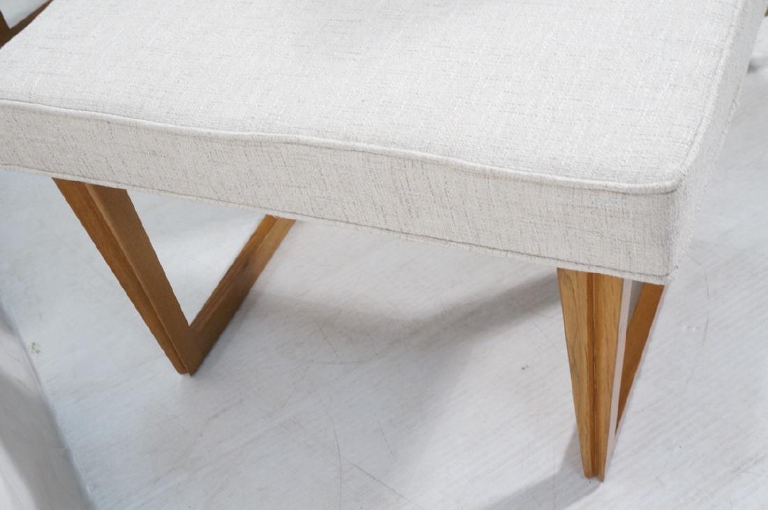 Pr Paul Laszlo Style Style Oak Leg Benches Foot S - 3