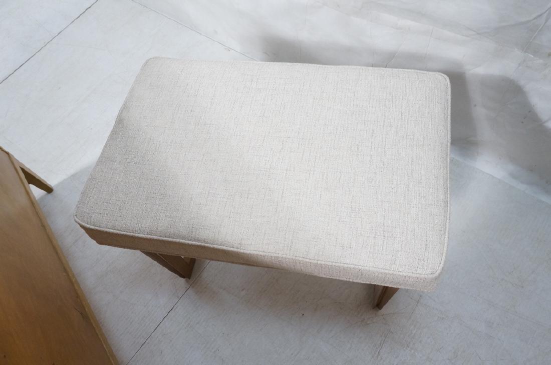 Pr Paul Laszlo Style Style Oak Leg Benches Foot S - 7
