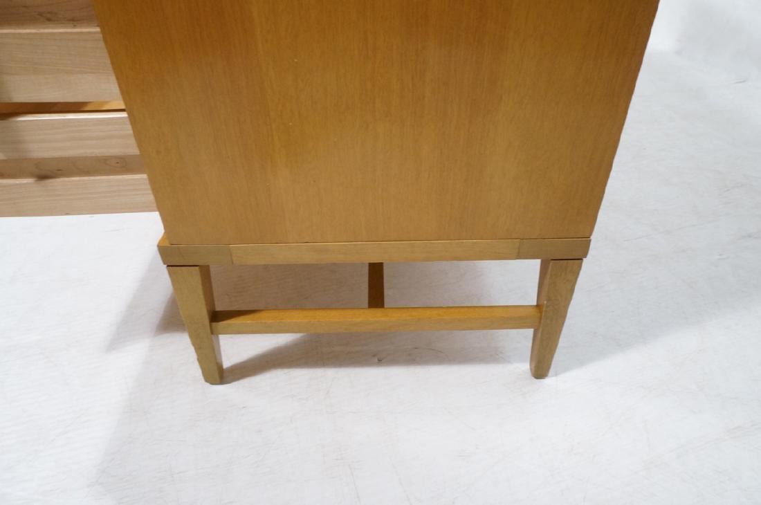 Modern Blond Mahogany 8 Drawer Dresser Credenza. - 7