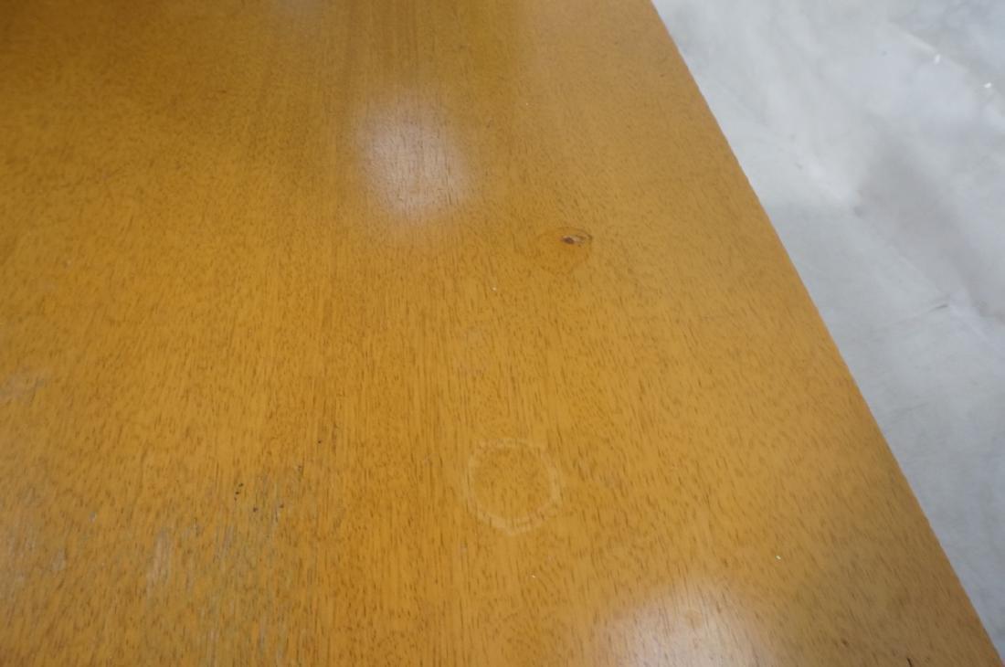Modern Blond Mahogany 8 Drawer Dresser Credenza. - 8