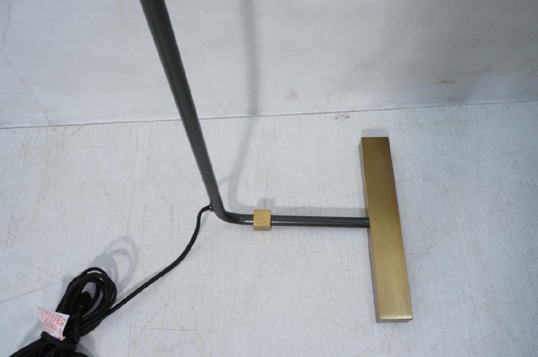 Modern Black Enamel Thin Tube Floor Lamp. Hartman - 3