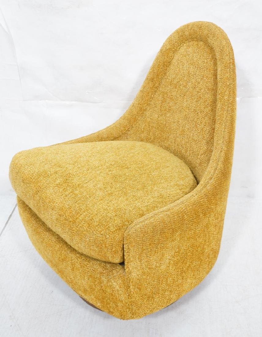 THAYER COGGIN by MILO BAUGHMAN SLIPPER CHAIR. Chi