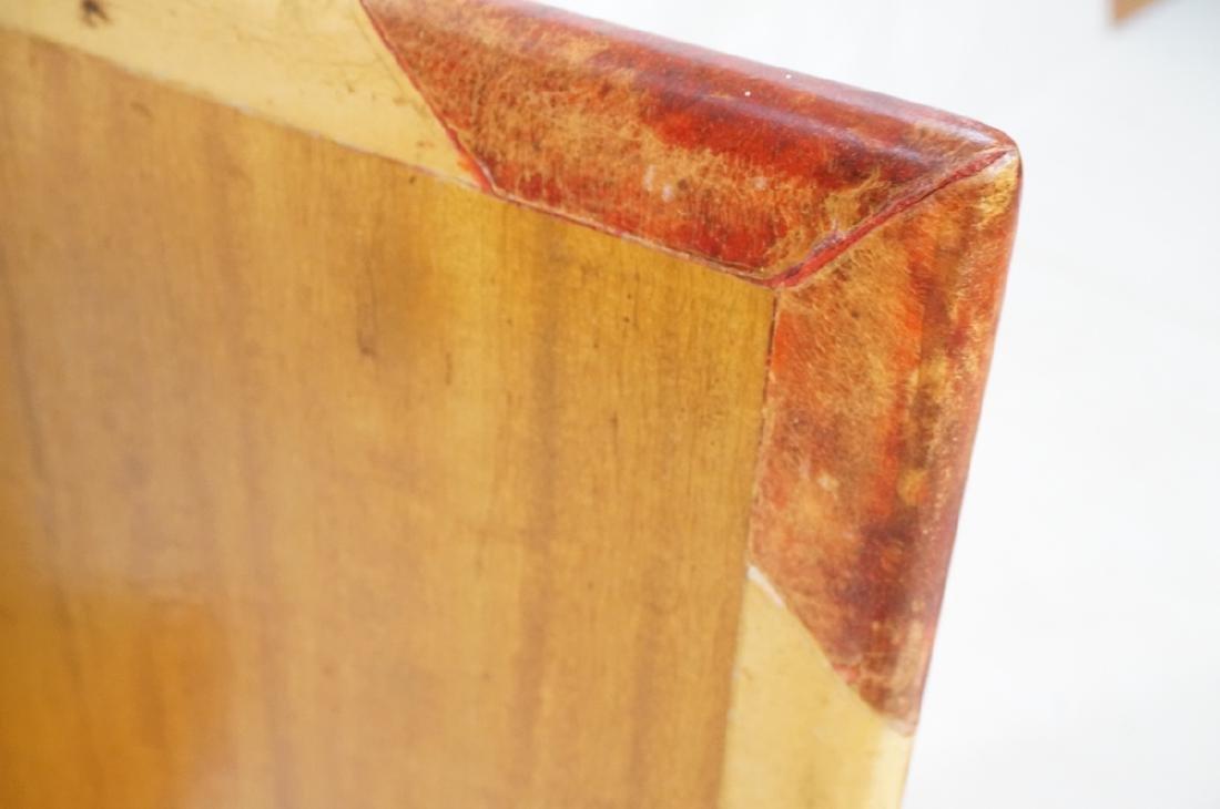 ALDO TURO Lacquered Goatskin Faux Book Bar Cabine - 6