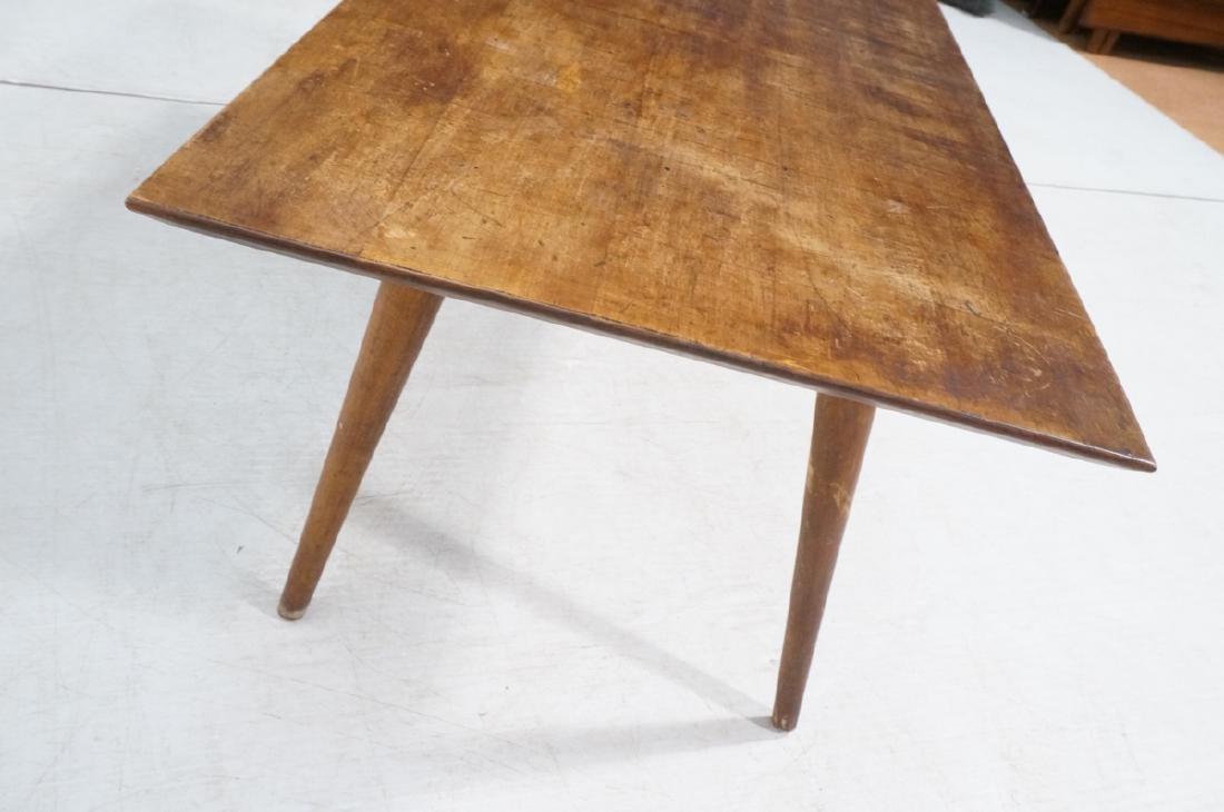 Paul McCobb Modernist Wood Coffee Table. Tapered - 4