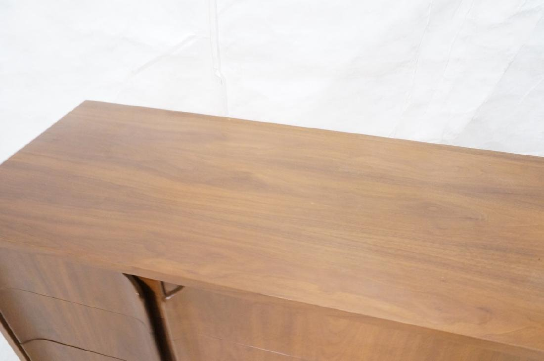 American Modern Walnut Credenza. 9 drawers with s - 8