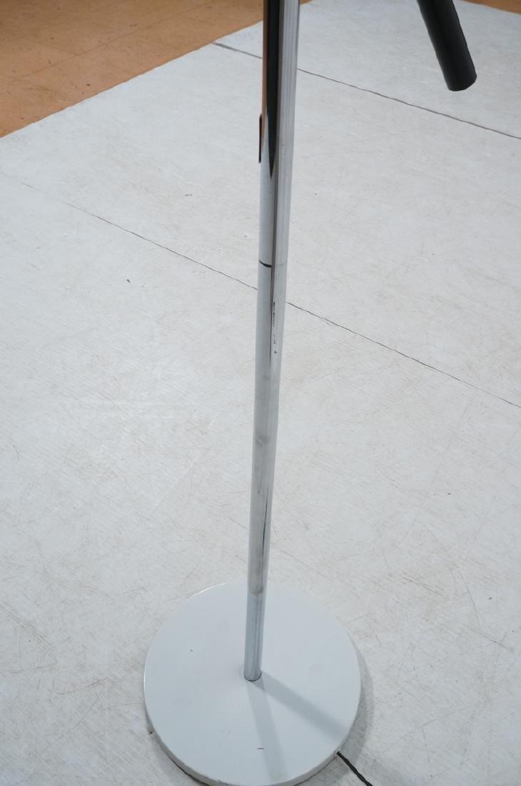 Triennale Style Modern Chrome Floor Lamp. White e - 11