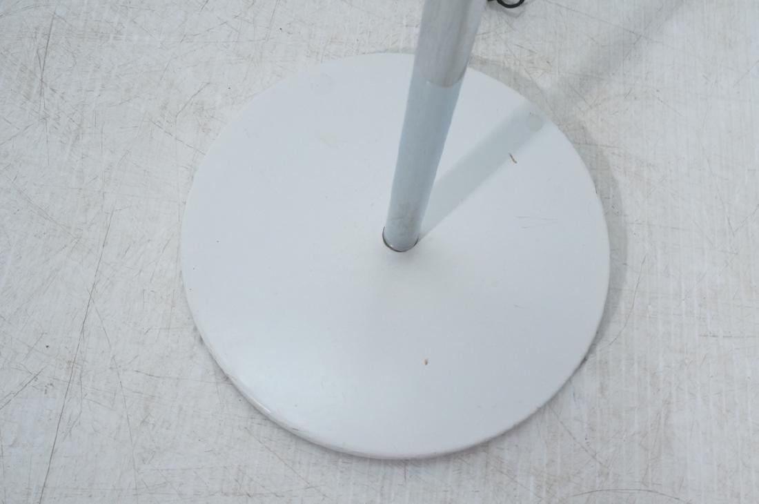 Triennale Style Modern Chrome Floor Lamp. White e - 7