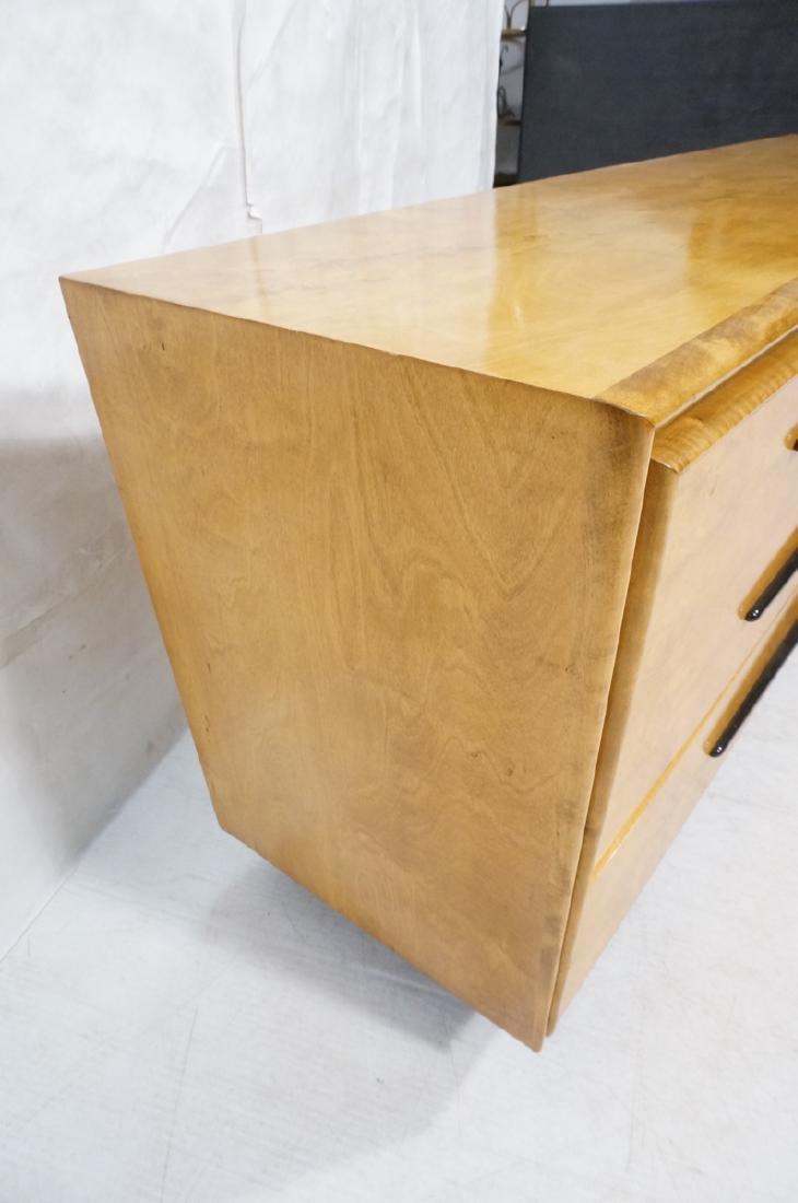 Blond Maple Stylish Modern Credenza Sideboard Dre - 2