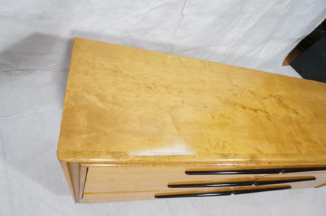 Blond Maple Stylish Modern Credenza Sideboard Dre - 3